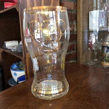 1972 Olympics 2L glass - Glassware