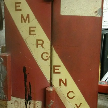 Vintage fire call box