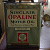 Sinclair Opaline Motor Oil Can... One Gallon...From The 1920's