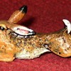 Austrian Cold Painted Bronze Running Hare