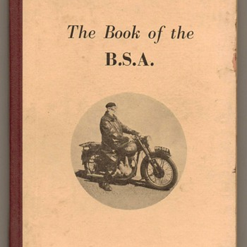 The Book of the B.S.A. - 1954 Edition - Books