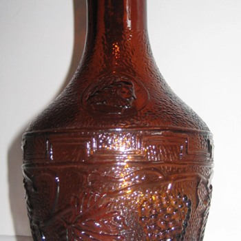 carafe or bottle-brown glass