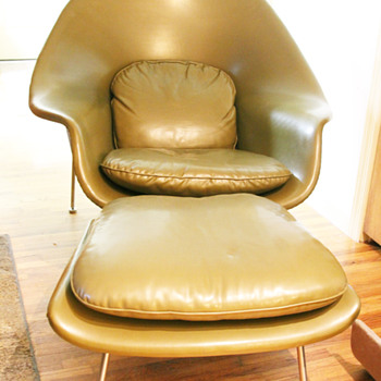 Knoll Womb Chair and Ottoman  - Mid-Century Modern