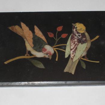 Slate Birds inlay