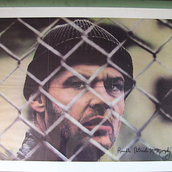 ONE FLEW OVER THE CUCKOO'S NEST (LP) with Included Poster. - Movies