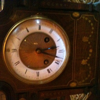 Tiffany Clock found in antique store. 1800's and keeps perfect time. Can't find one anywhere    - Clocks