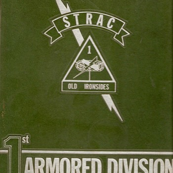 1st Armored Division 25th Anniversary 1965 book - Military and Wartime
