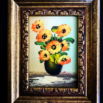 Sunflower oil painting  - Fine Art