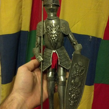 Miniature suit of armor - Victorian Era