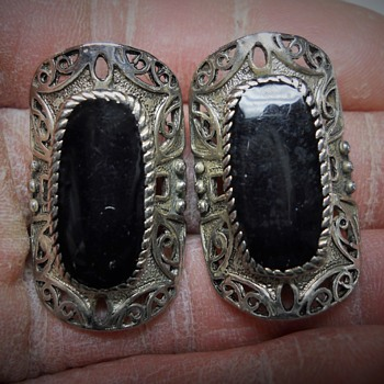 Sterling Antique Earring - Fine Jewelry
