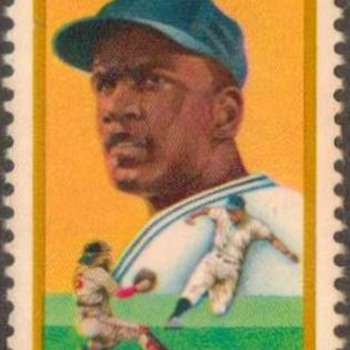 1982 - Jackie Robinson Postage Stamp (US) - Stamps