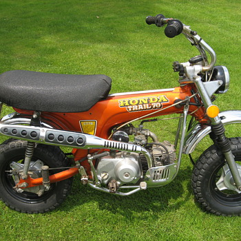 1973 Honda Mini Trail CT70 K2 - Motorcycles