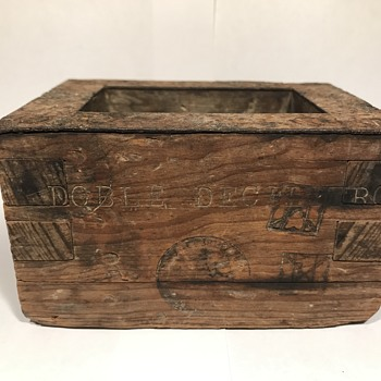 Antique Mexican Measuring Box??