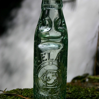 GEORGE ELAND DOBSON PATENT CODD NEWCASTLE - Bottles