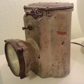 1917 Grether Fire Equipment Co. lantern - Firefighting