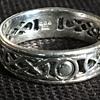 Vintage Celtic silver ring