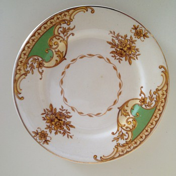 Royal Staffordshire pottery Honeyglaze saucer