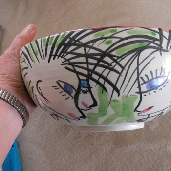 80's art bowl.