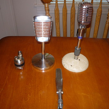 50's Microphones from a $75 box lot!