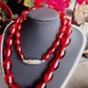 Translucent Cherry Amber necklace