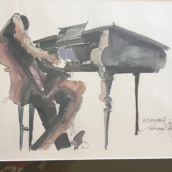 Leo Meiersdorff New Orleans Watercolor - Fine Art