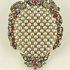 Victorian Pendant with Pearls and Diamonds
