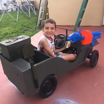 junior pro jeep - Model Cars