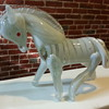 Amazing Heavy Blown Glass Horse Murano?