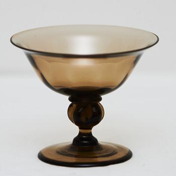 'Viol' glass by Jacob Bang, Holmegaard Glassworks (Denmark), 1928 - Art Nouveau