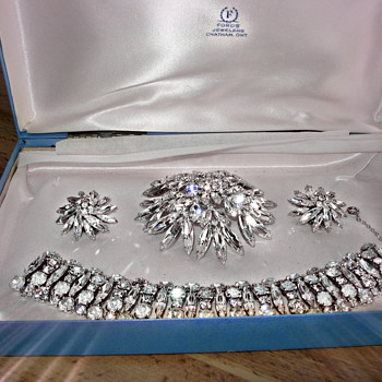 Signed Jewellery with a Receipt - Costume Jewelry