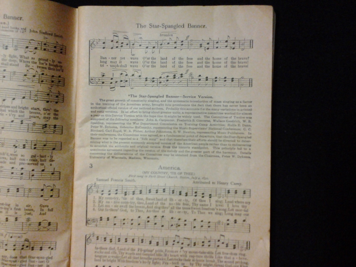 these are 2 song books 1 from the late 1800s and the other