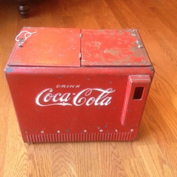 Coca cola salesman sample cooler 1939-1940 - Coca-Cola