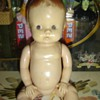 Celluloid Side looking baby doll