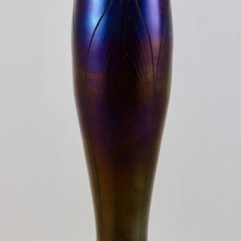 Loetz Rubin Phänomen Genre 166 Vase, st PN II-73, ca. 1898 - Art Glass