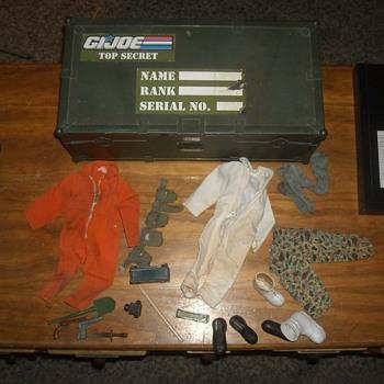 GI Joe Footlocker With Accessories - Toys