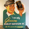 1940's Harley-Davidson Dealer Oil Display
