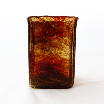 Lava vase, Per Lütken (Holmegaard, 1970) - Art Glass