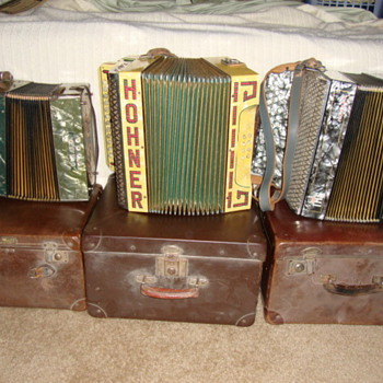 Hohner Accordeons - Music Memorabilia