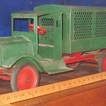 Vintage Large Toy Truck - Model Cars