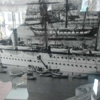 Photo of 1866 British Euphrates Class Troopship - Military and Wartime