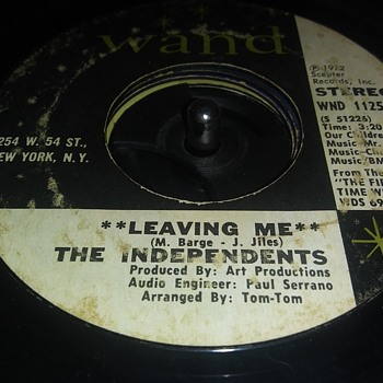 45 RPM SINGLE....#118 - Records