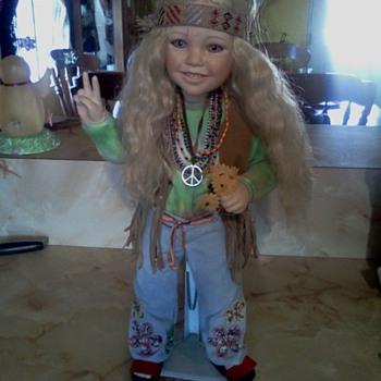 "Nancy Leslie porcelain doll ""Harmony"" - Dolls"