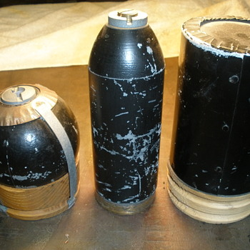 American Civil War Artillery Shells - Military and Wartime