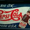 Pepsi Cardboard sign