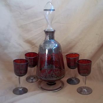 Vintage Wine Decanter  - Bottles