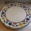 "Petrus Regout & Co. Maastricht Made In Holland 13"" Pottery Charger"