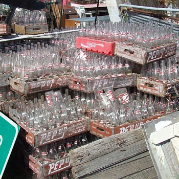 A Short Trip To A Little Soda Pop Bottle Heaven - Bottles