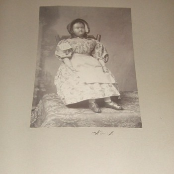 Photograph of early doll display - Photographs