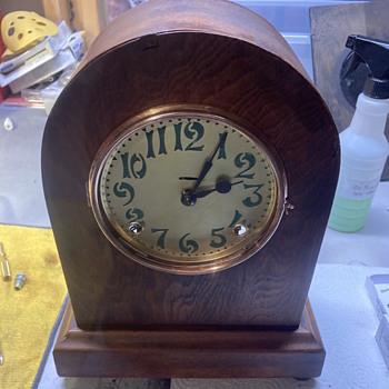 1910 Ingraham movement project clock - Clocks