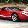 2005 Ford GT. Classic now. Also my 69 Camaro for manikin